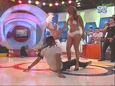 Graziana la ex de Vito Muñoz bailando sensualmente
