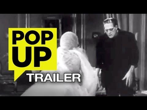 Frankenstein (1931) POP-UP TRAILER - HD Boris Karloff Movie