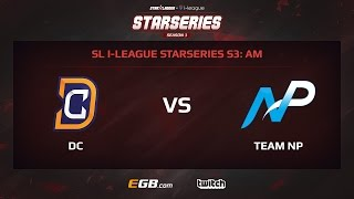Digital Chaos vs Team NP, Game 1, SL i-League StarSeries Season 3, AM