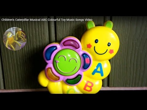 Video songs - Children's Caterpillar Musical ABC Colourful Toy Music Songs Video