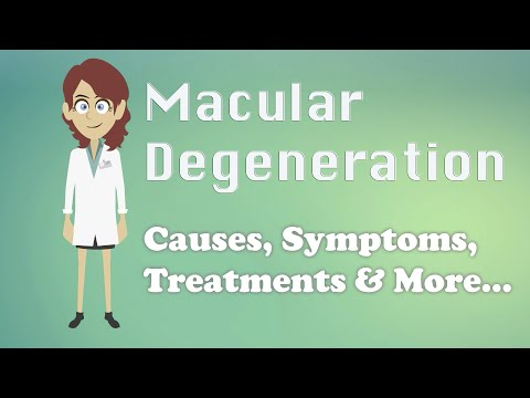 Macular Degeneration - Causes, Symptoms, Treatments & More…