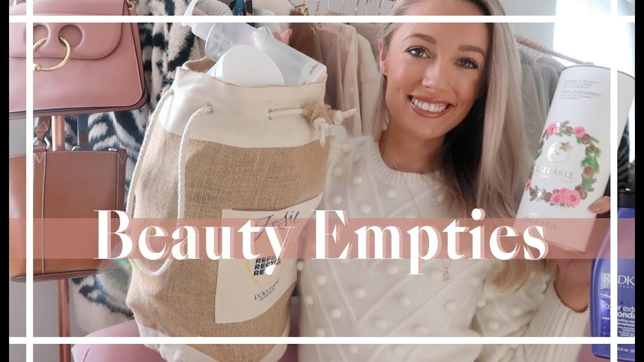 BEAUTY EMPTIES 💄💄💄 Products I've Used Up // Fashion Mumblr