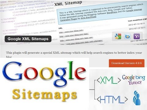 WordPress Google XML Sitemaps Plugin Tutorial