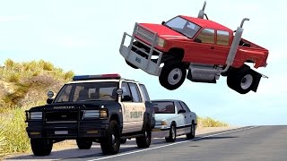 Realistic High Speed Crashes #17 - BeamNG Drive