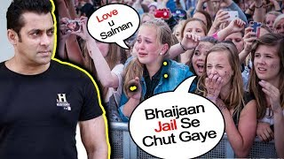 Video Salman Khan's EMOTIONAL FANS Reaction on Bail | Blackbuck Poaching Case MP3, 3GP, MP4, WEBM, AVI, FLV Desember 2018
