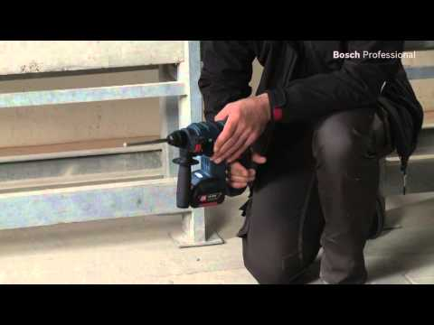 Bosch clic go Akkubohrhammer GBH 18 V-EC SDS-plus