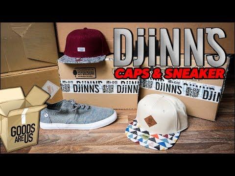 Timbo feiert: Caps und Sneaker von DJINNS
