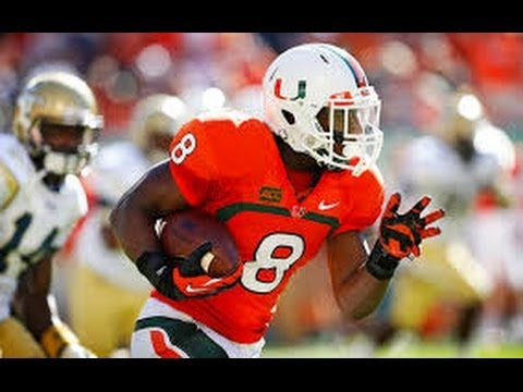 Duke Johnson Highlights Miami video.