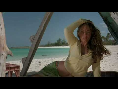 Kelly Brook hot, sexy in Three (Survival Island)