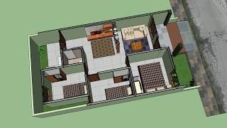 Video Rumah Minimalis 6 x 12 meter dengan 3 kamar tidur MP3, 3GP, MP4, WEBM, AVI, FLV Agustus 2018