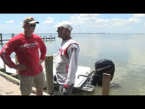 Video barry stokes interviews mercury outboards pro for Trinity bay fishing