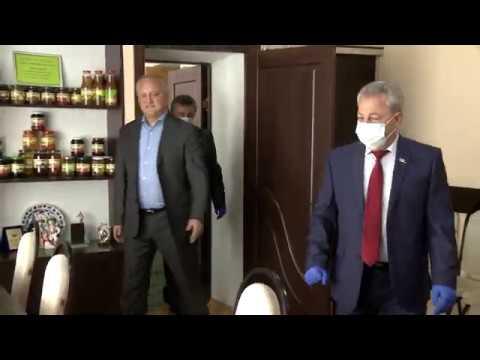 Preşedintele ţării a vizitat raionul Cantemir
