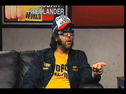 Judah Friedlander can kick your ass