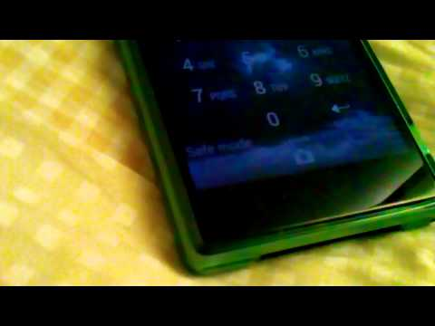 how to turn sony xperia z off