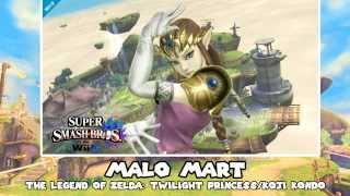 Music to Smash to – Day 77 – Malo Mart (The Legend of Zelda: Twilight Princess)