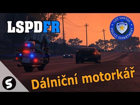 GTA V : LSPDFR - #14 Dálniční motorkář