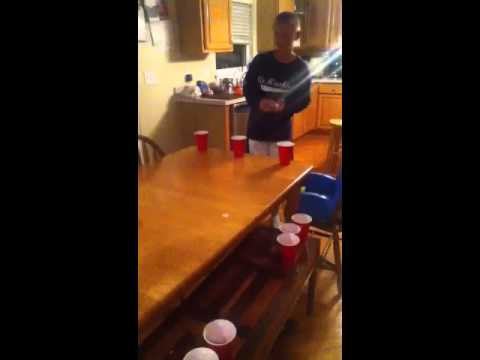 Kid beer pong pt.1