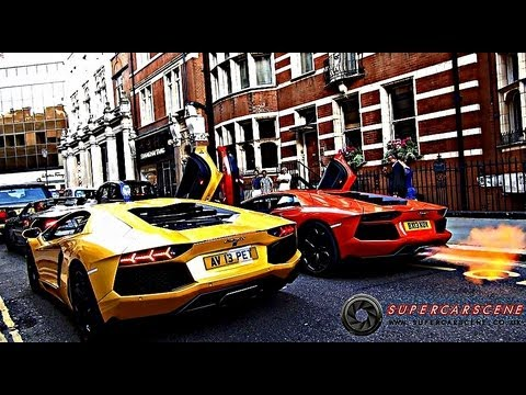 CRAZIEST LAMBORGHINI AVENTADOR VIDEO EVER!!!