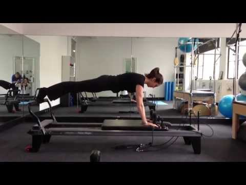 Pilates Exercises for Sports People on the Reformer