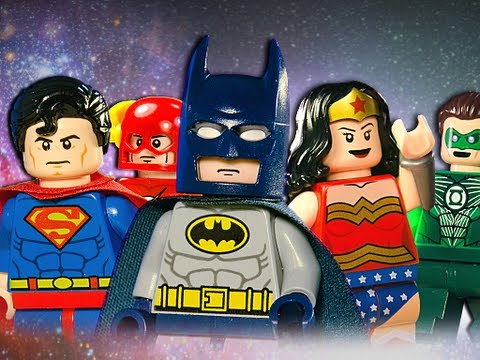 0 Die Justice League als Lego Stop Motion Film