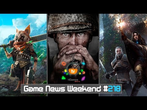 Игровые Новости — Game News Weekend #218   (Call of Duty WW2, Left Alive, BioMutant, The Witcher 4)