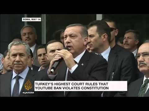 Turkey's top court rejects YouTube ban