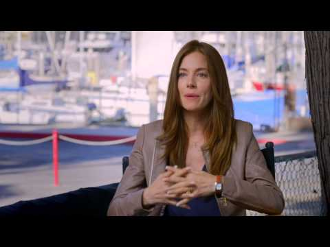 "American Sniper: Sienna Miller ""Taya Kyle"" Behind the Scenes Movie Interview"