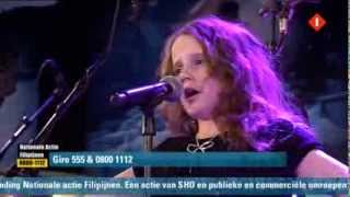 Amira Willighagen Sings Liva Opera At Television Action Philippines 11-18-2013