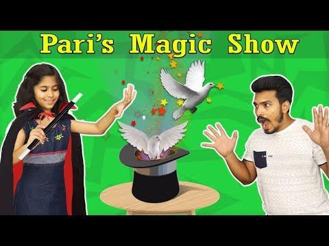 Wow Pari Doing Magic Show | Very Easy Magic Tricks