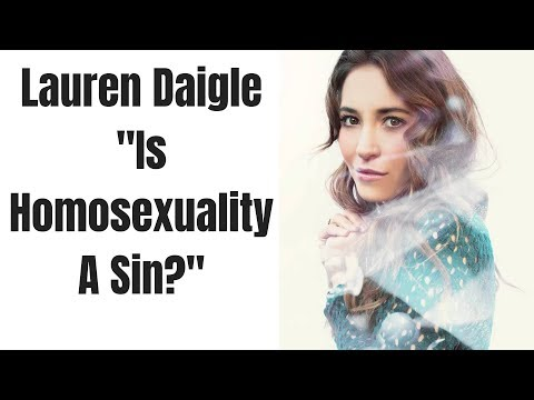 Video Lauren Daigle Interview | Is Homosexuality Wrong? download in MP3, 3GP, MP4, WEBM, AVI, FLV January 2017