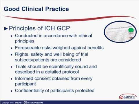 Final ICH GCP E6 R2: Impact on Clinical Data Management Trailer