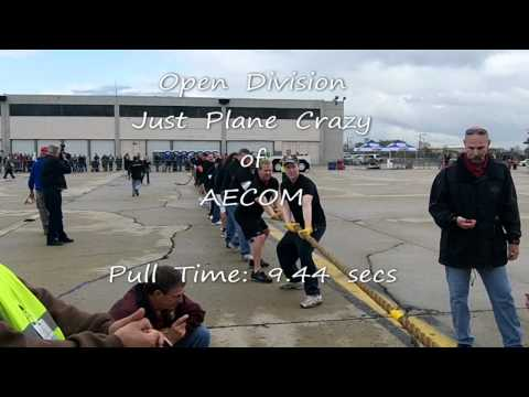 just plane crazy - 2011 Special Olympics Illinois Plane Pull - Now in its 3rd year, this crazy contest on Sept. 24th, pitted men and women against machine as teams of 20 play T...