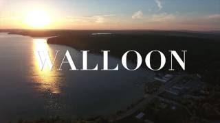Walloon Lake and Village, Michigan