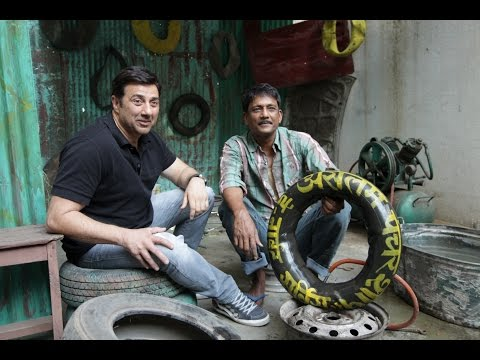 Promotion Of Movie Zed Plus With Sunny Deol & Adil Hussain