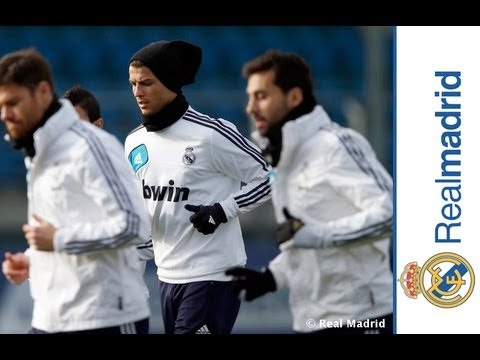 First training session ahead of La Liga clash against Getafe | 25.01.2013