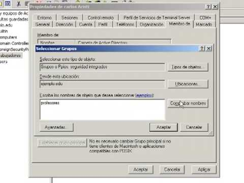 0 Instalación y Configuración de Active Directory en Windows Server 2003