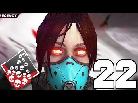 INSANE 22 KILL GAME ON OLYMPUS SEASON 7 - APEX LEGENDS