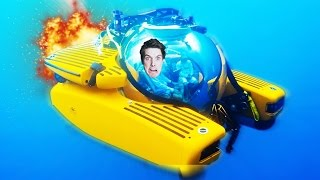 SURVIVE IN A SUBMARINE SIMULATOR! (We Need To Go Deeper Gameplay)