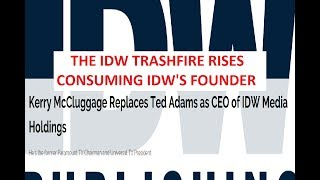 Video IDW Comics Replaces Their CEO And Founder, Ted Adams, After Ryall And Others in 2018 MP3, 3GP, MP4, WEBM, AVI, FLV November 2018