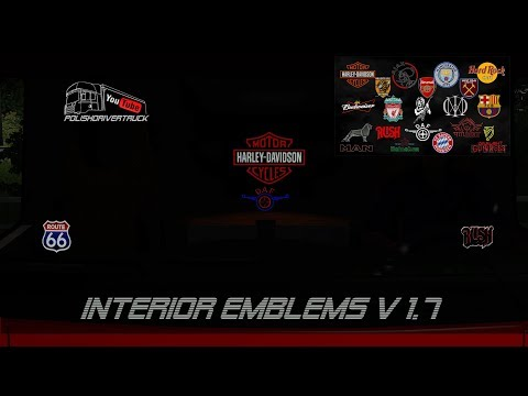Interior Lights & Emblems v2.2 1.28.x