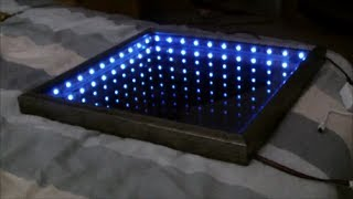 Make An L.E.D Illusion Mirror! - YouTube