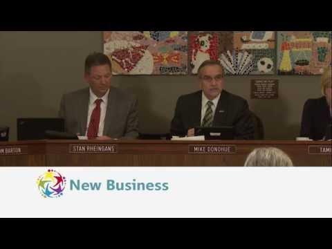 Watch the latest school board meeting