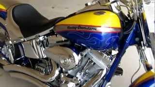 9. 2006 Harley-Davidson CVO Screamin Eagle fat Boy, Hear it run, Vance & Hines Exhaust, for sale