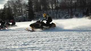 7. Polaris 700 Pro X2 lake race