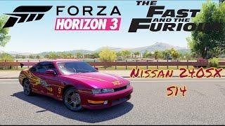 Nonton Forza Horizon 3 Fast & Furious Letty's Nissan 240sx S14 Film Subtitle Indonesia Streaming Movie Download