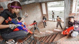 Video LTT Nerf War : SEAL X Warriors Nerf Guns Fight Attack Criminal Group Team revenge MP3, 3GP, MP4, WEBM, AVI, FLV Juli 2018