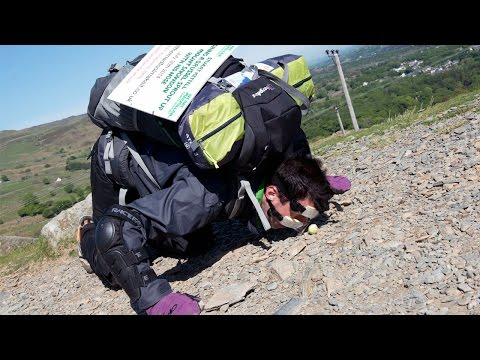 Man Decides to Push Brussels Sprouts Up Mountain With His Nose