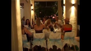 A wedding reception video shot at Zinc Restaurant in Port Douglas, Queensland Australia.