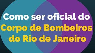 Tudo sobre como ser um Oficial do Corpo de Bombeiros Militar do Rio de Janeiro! Desde a inscrição no concurso (Vestibular...