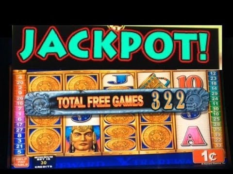 JACKPOT! MAYAN CHIEF slot machine MAX BET HANDPAY WIN